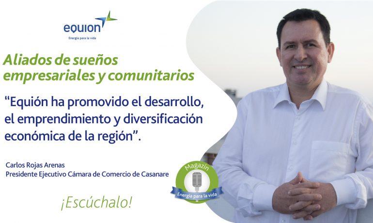 Imagen: Aparece Caros Rojas, Presidente Cámara de Comercio de Casanare - Equión